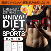 Confit 肥満遺伝子検査+SPORTS 紙レポート