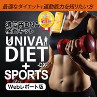 Confit 肥満遺伝子検査+SPORTS Webレポート